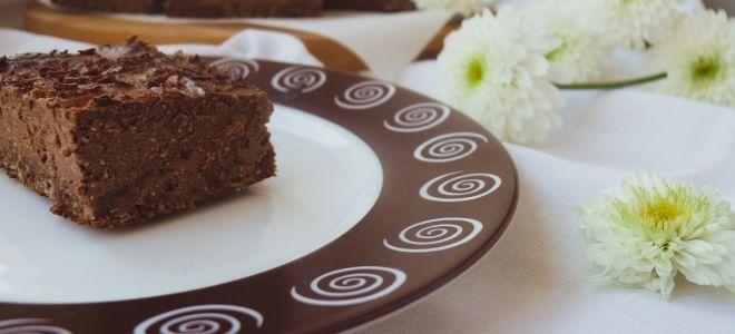 Шоколадный чизкейк из творога