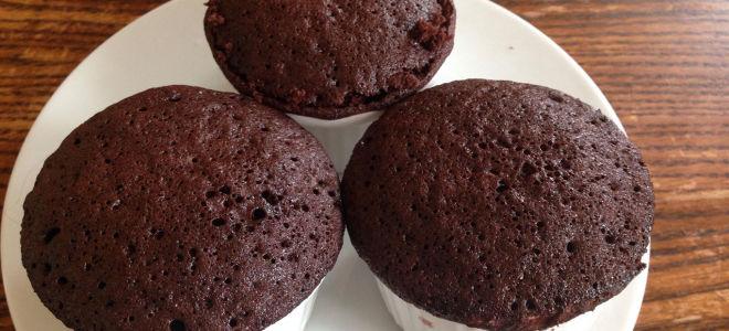Шоколадный кекс без яиц