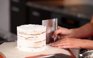 Крем для выравнивания торта под глазурь