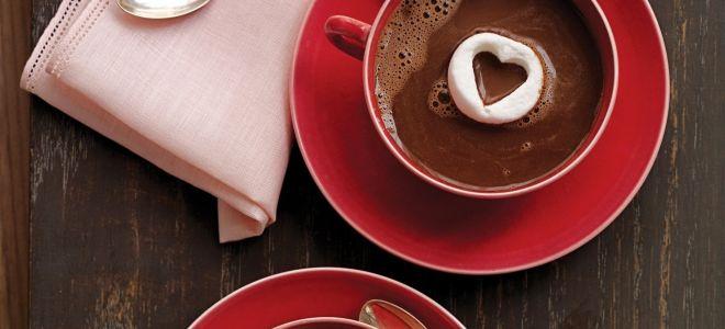 Ароматный горячий шоколад из какао