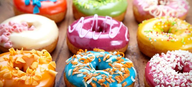 Рецепт пончиков с глазурью