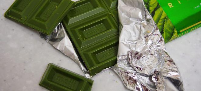 Зеленый шоколад