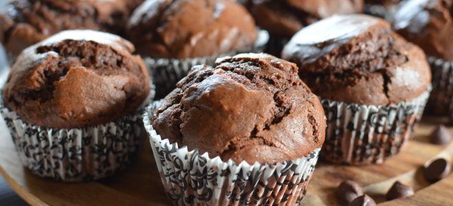 Шоколадные маффины: праздник вкуса