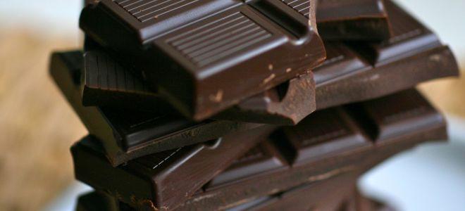 Горький (темный) шоколад