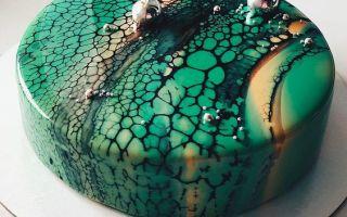 Рецепт глазури «Леопард»