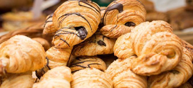 Круассаны с шоколадом: французское угощение на русской кухне