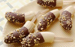 Готовим дома бананы в шоколаде