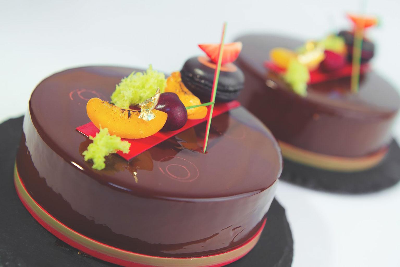 Блестящая шоколадная глазурь