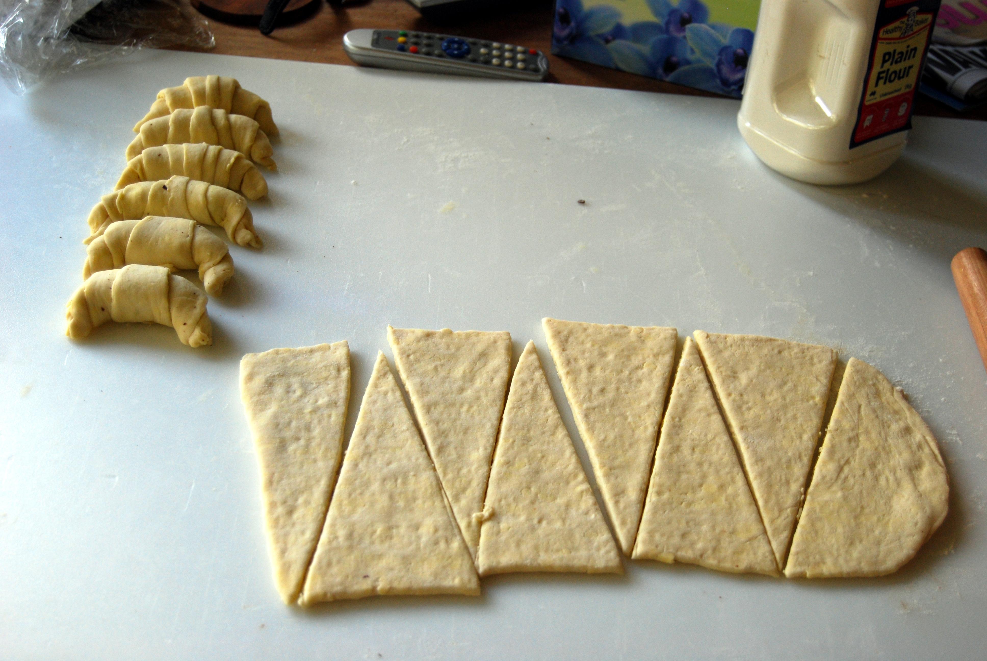 Тесто для круассанов