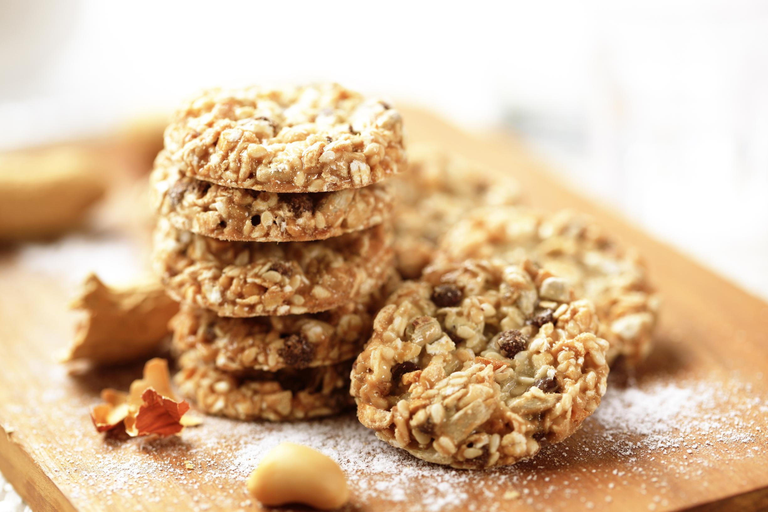 Овсяное печенье с шоколадом и кокосовой стружкой