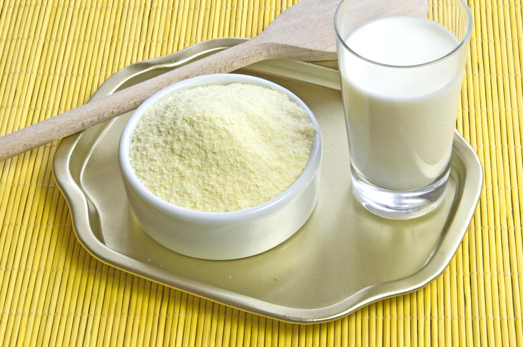 Сухое молоко - основа быстрой Нутеллы