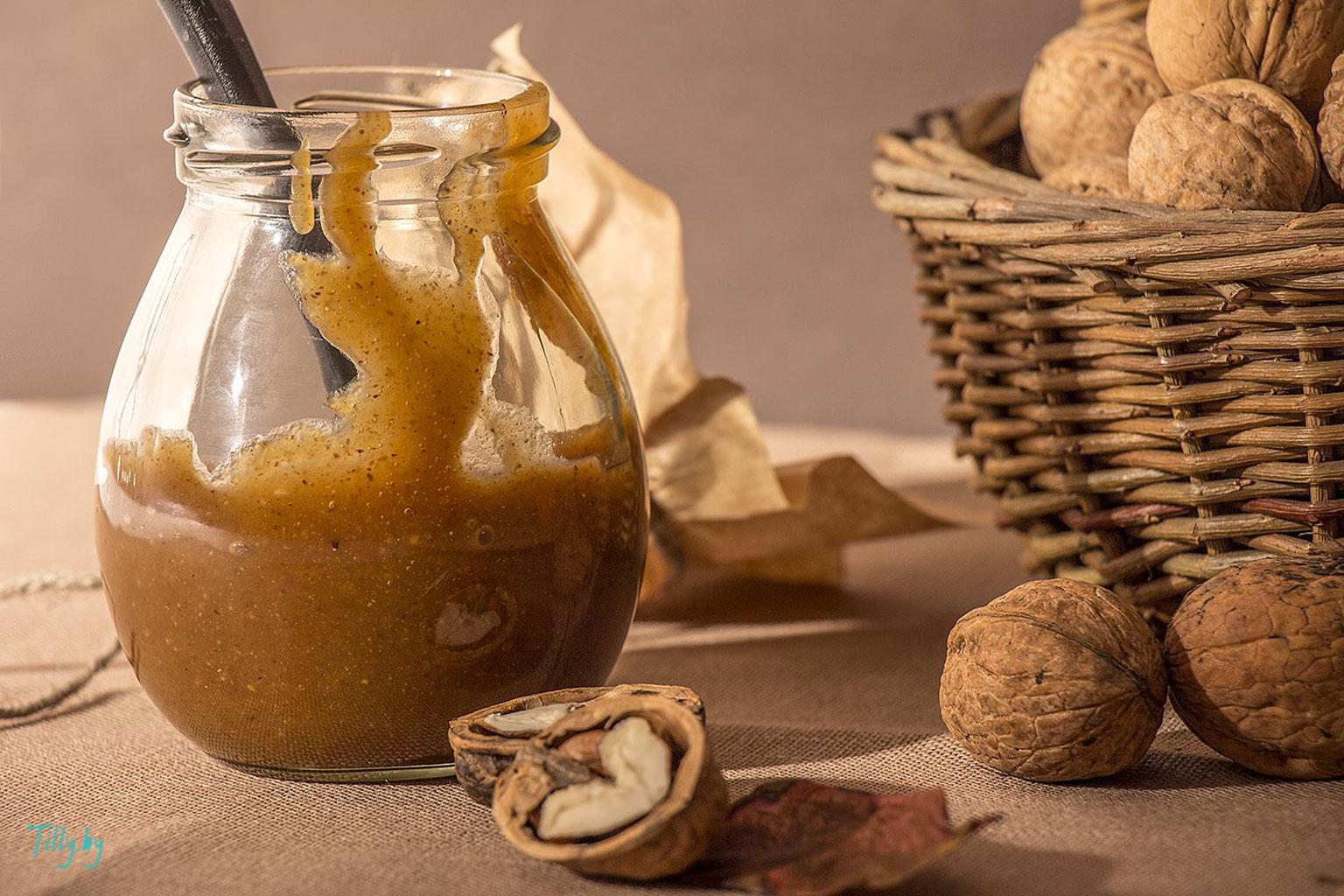 Ореховая паста из грецких орехов