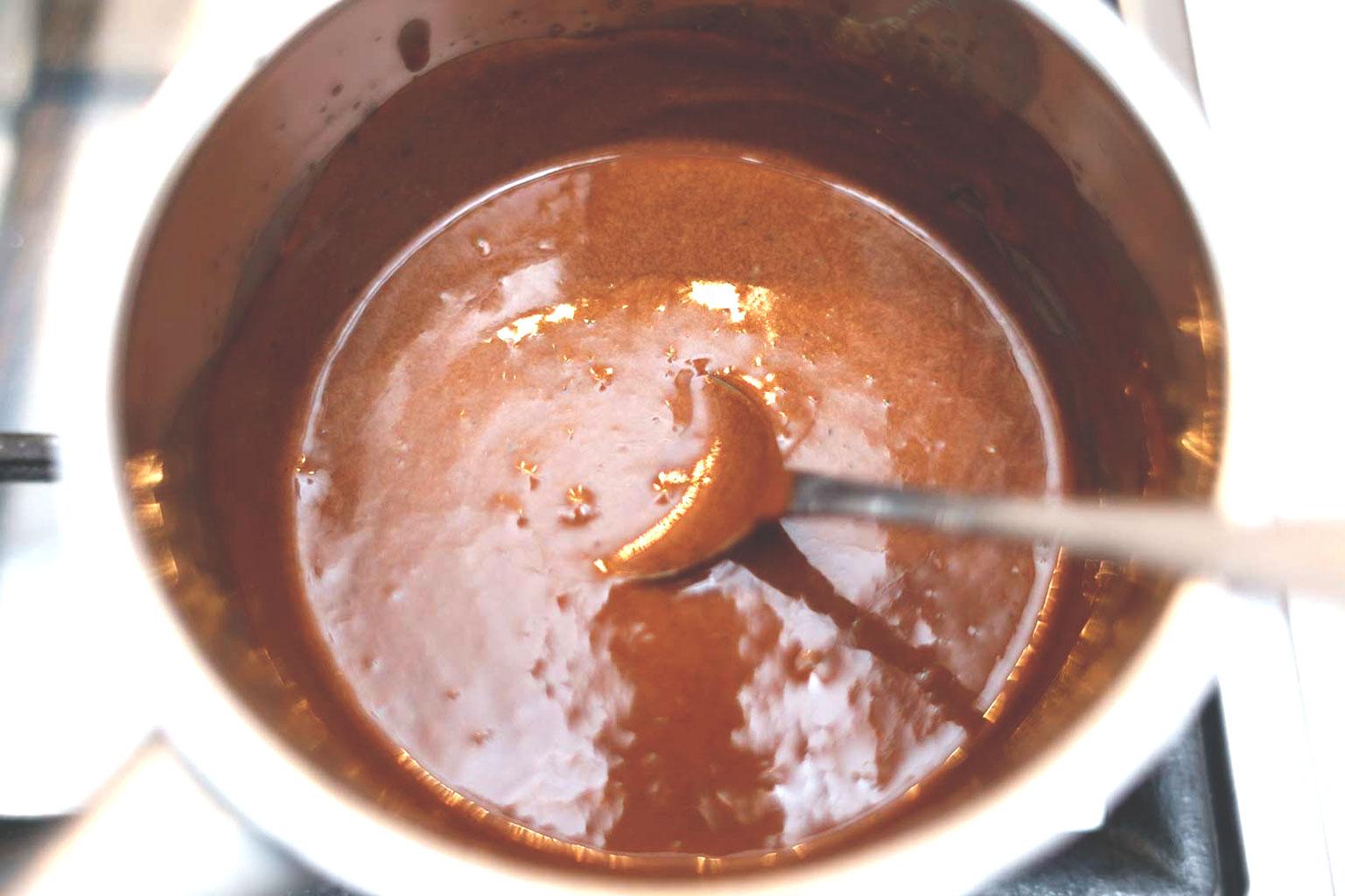 Варить какао