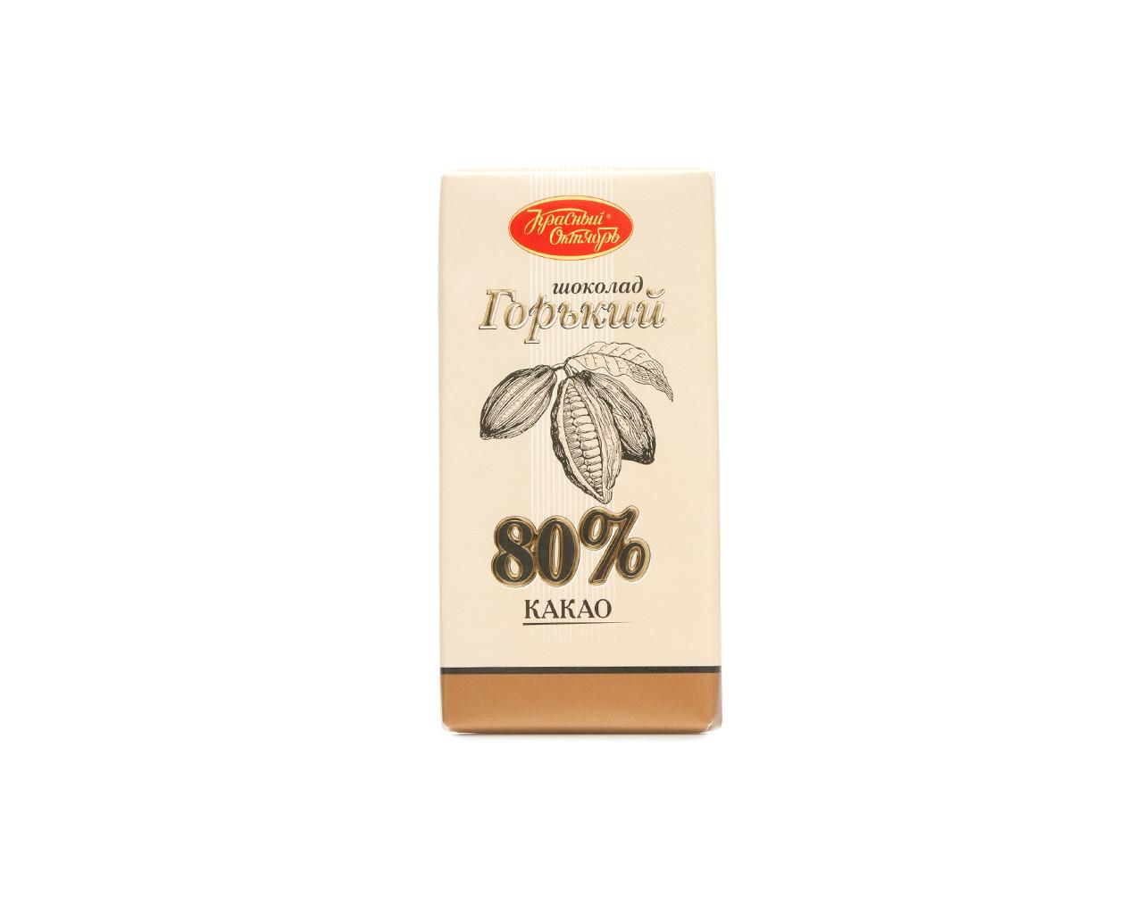 Горький шоколад Красный Октябрь