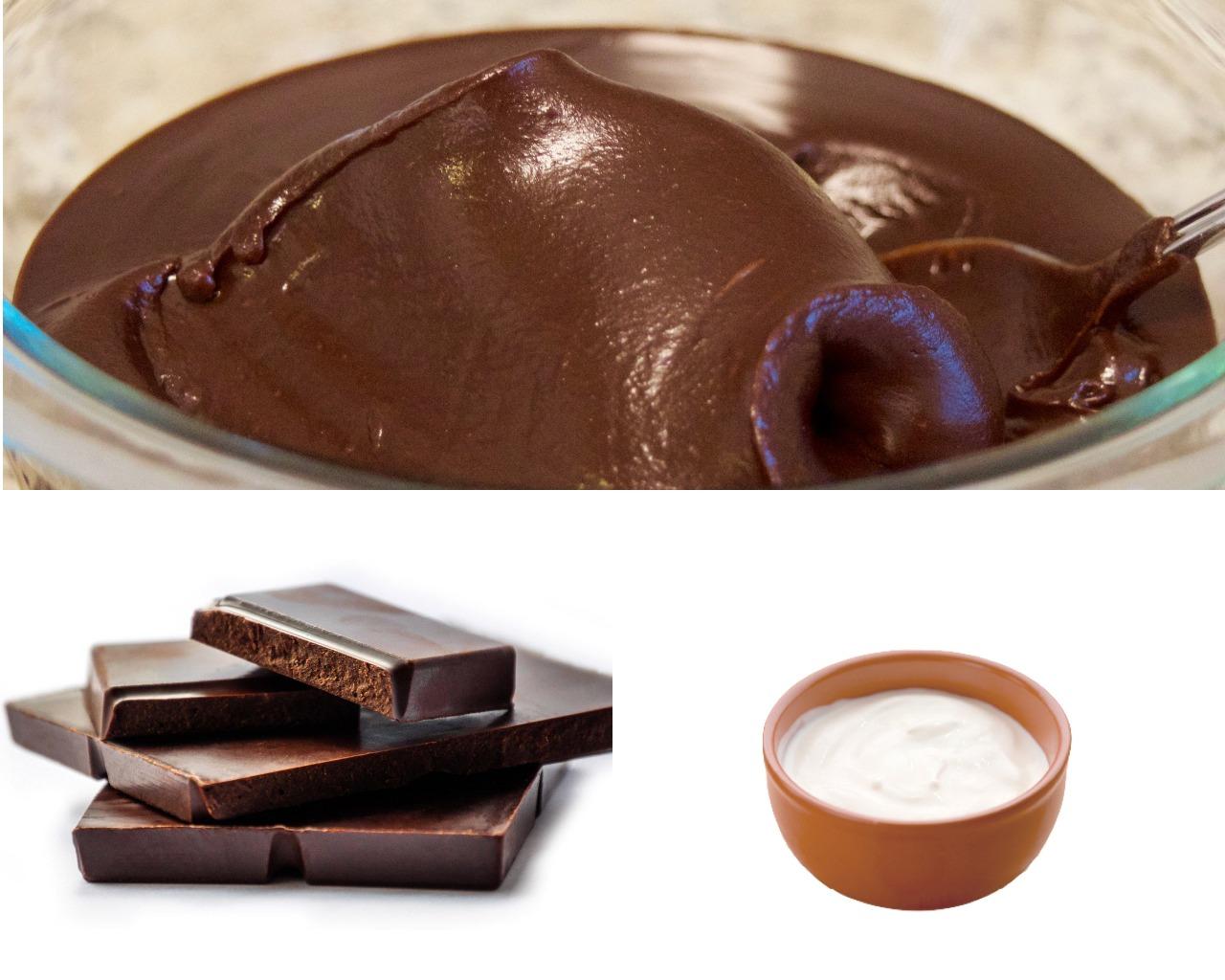 Ингредиенты для шоколадного ганаша