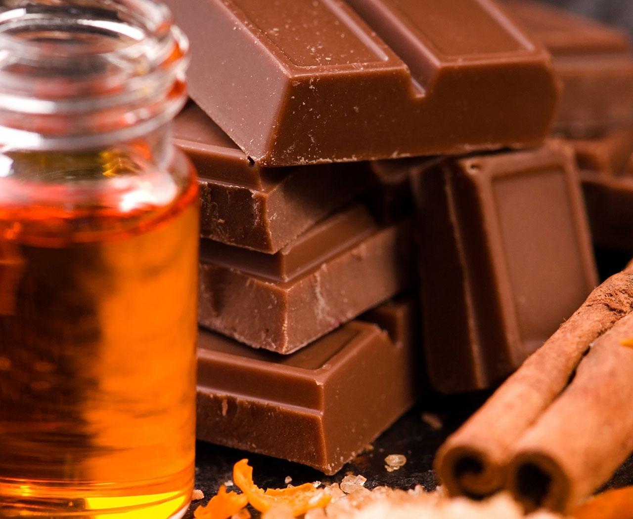 Медовый домашний шоколад
