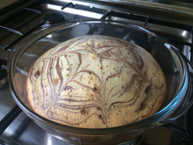 Пирог «Зебра» в духовке