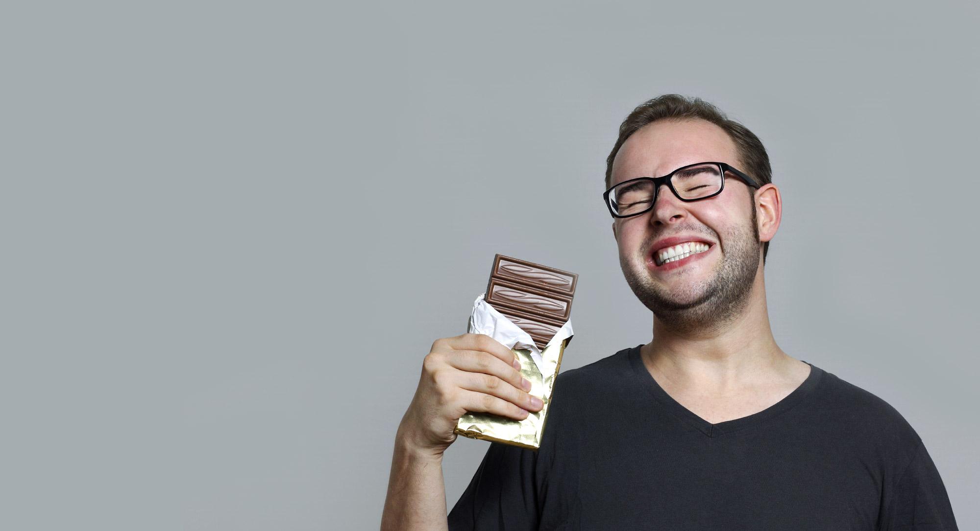Польза шоколада для мужчин