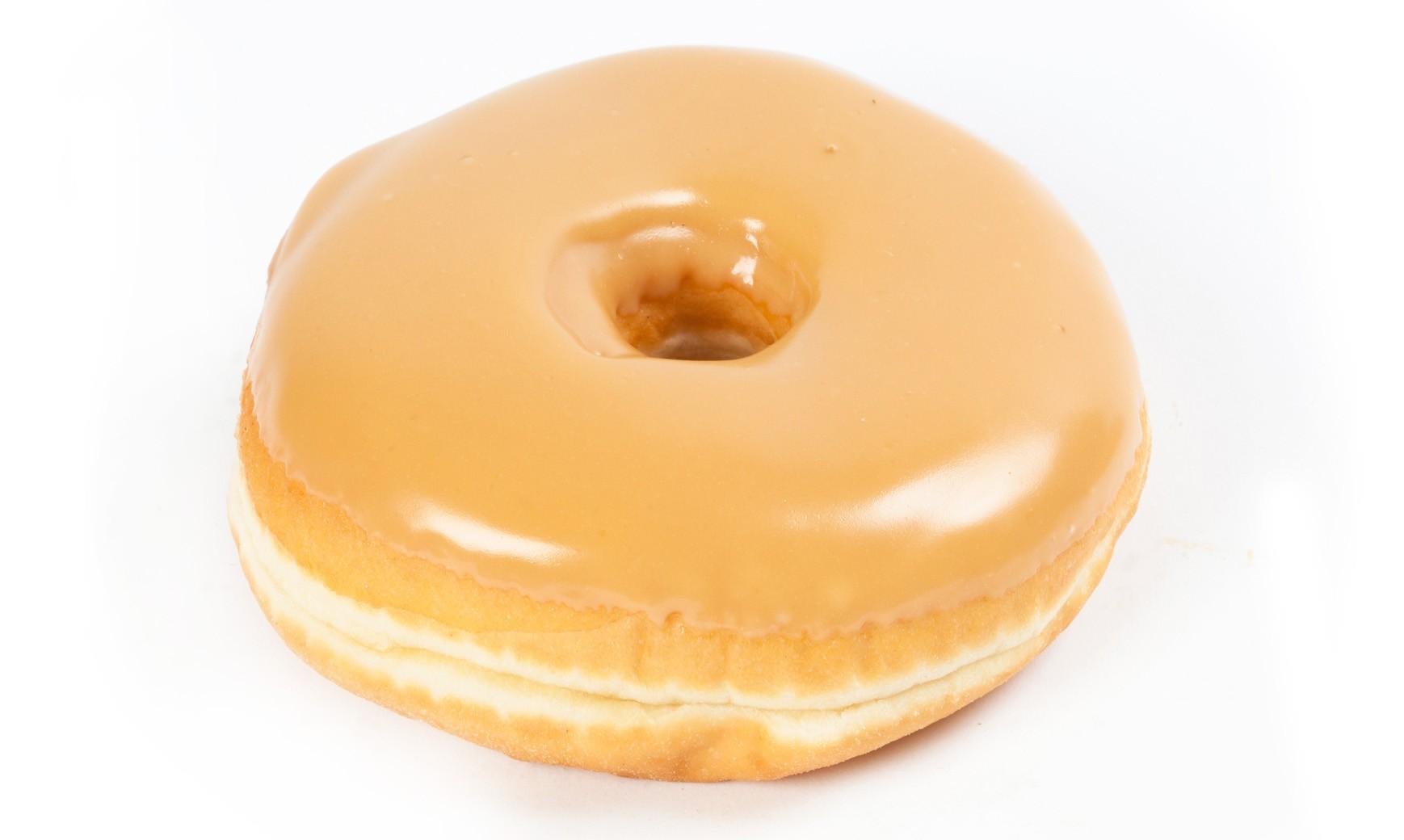 Пончики с карамельной глазурью