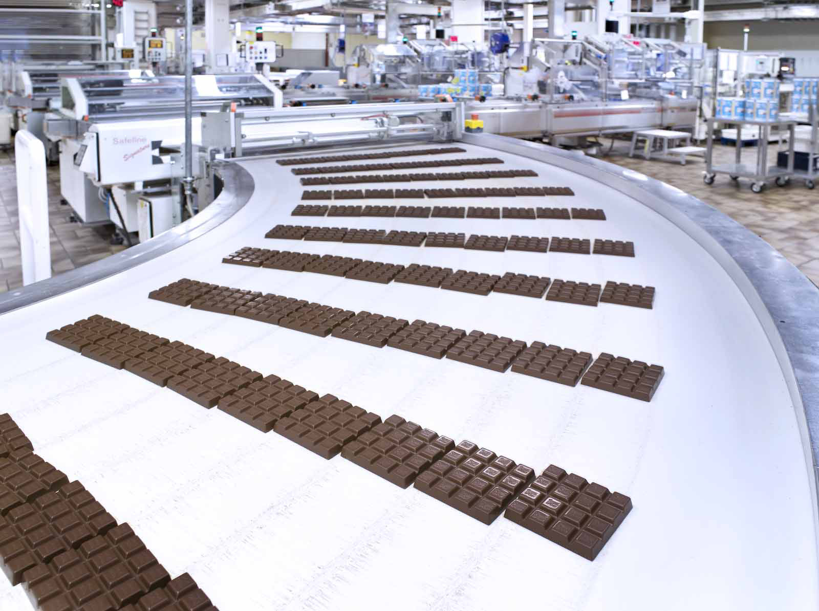 Производство плиточного шоколада