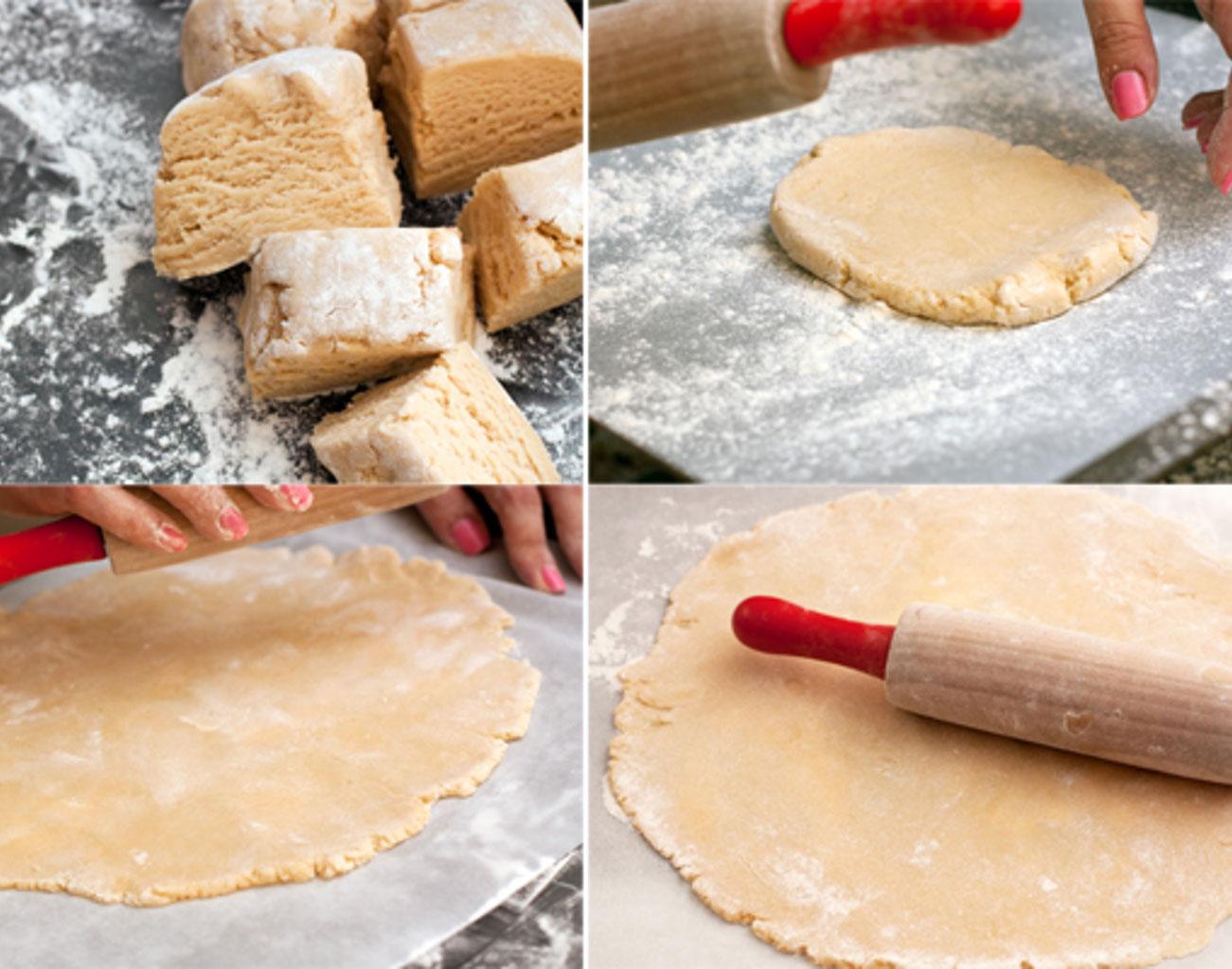Раскатать тесто для медовика