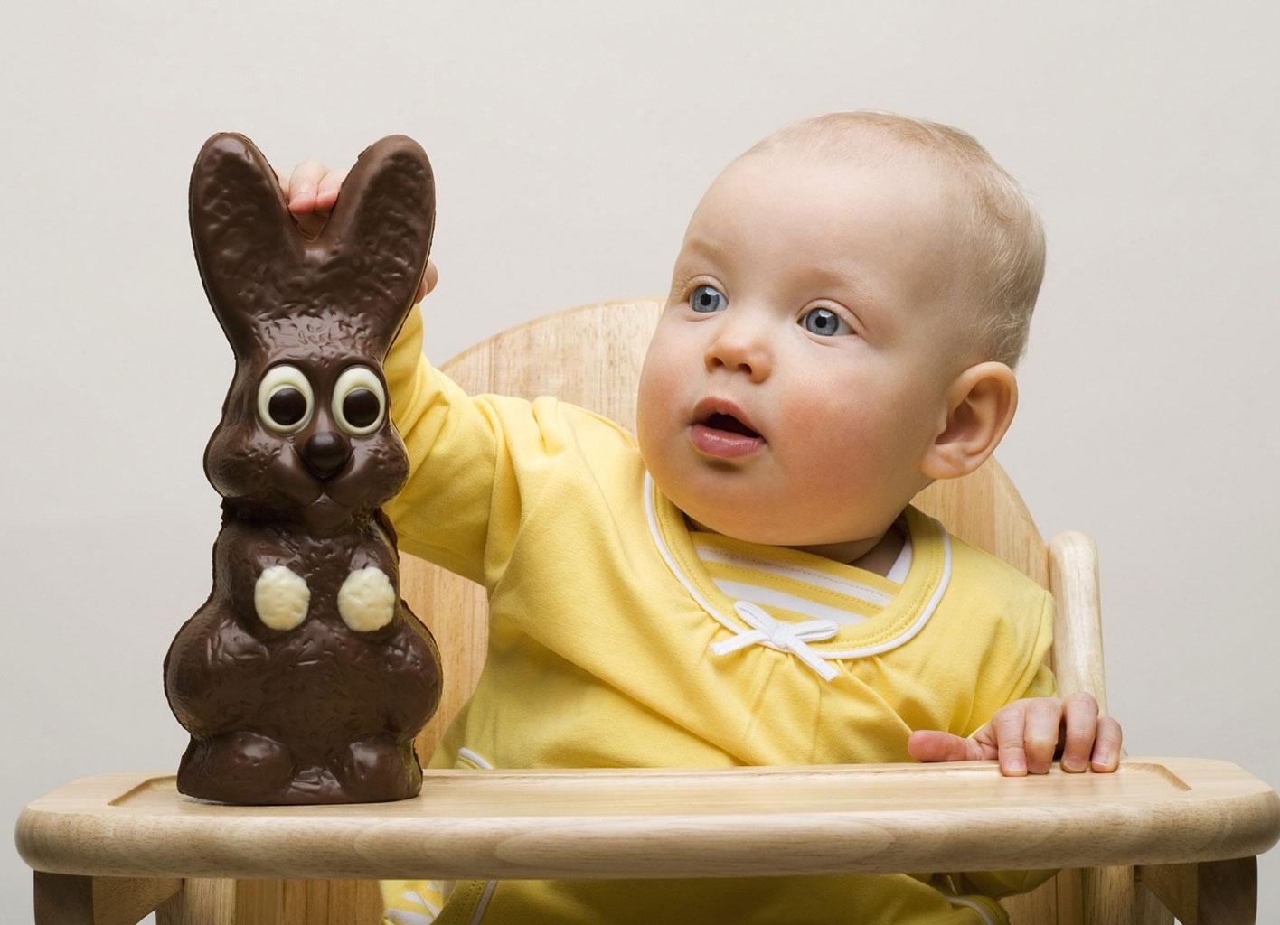 Шоколад противопоказан для детей до года
