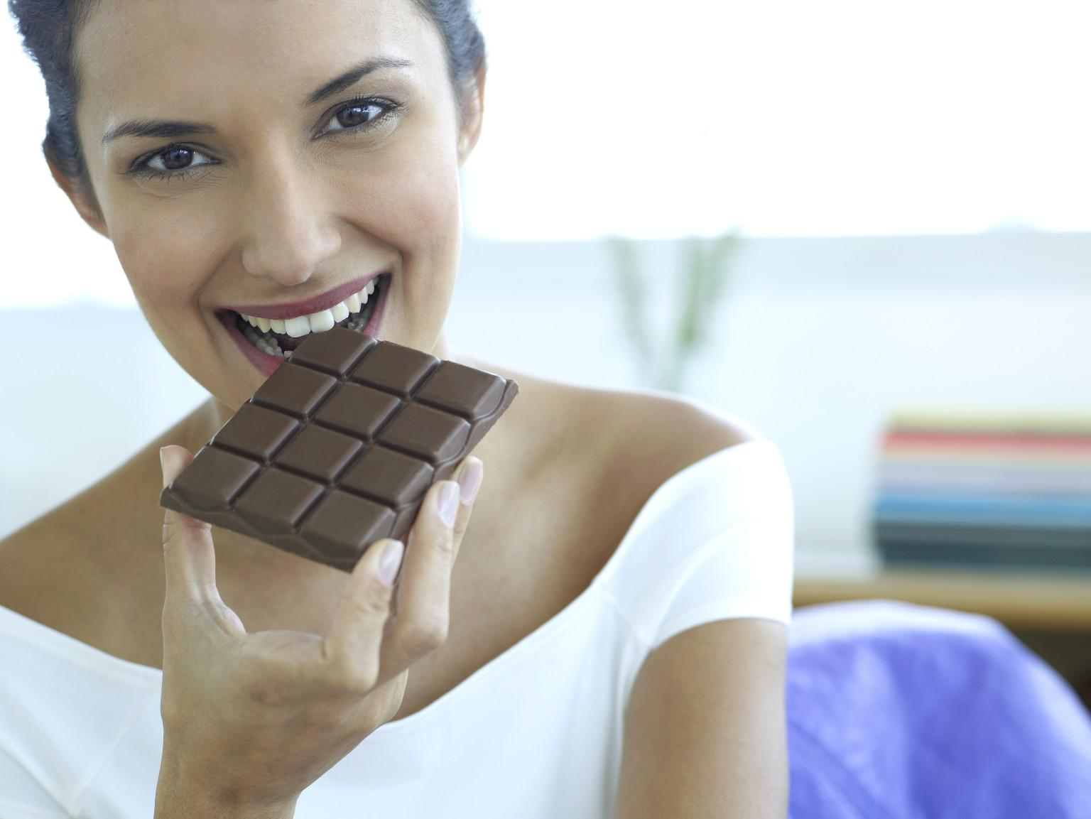 Шоколад при ПМС