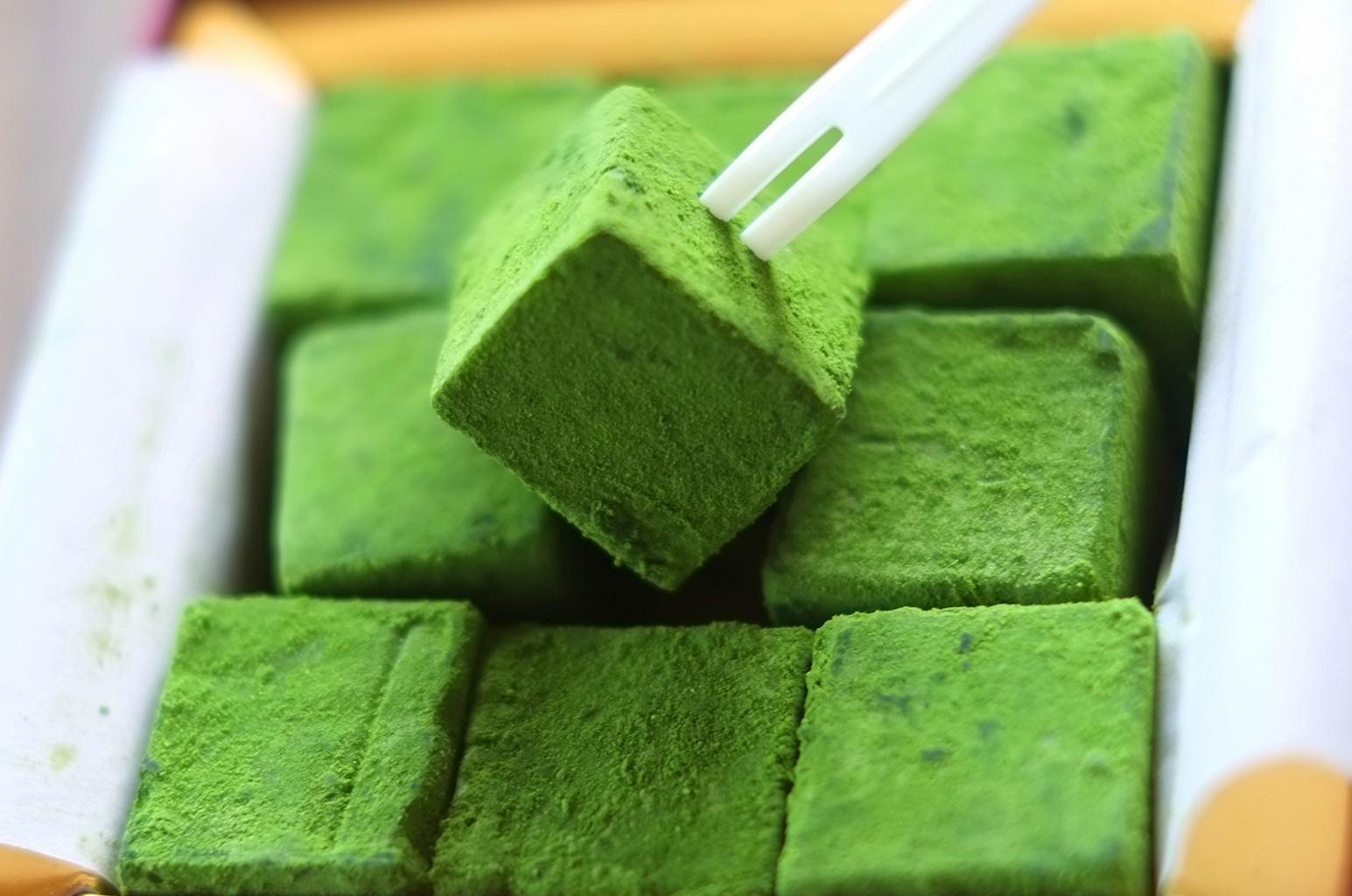 Домашний зеленый шоколад