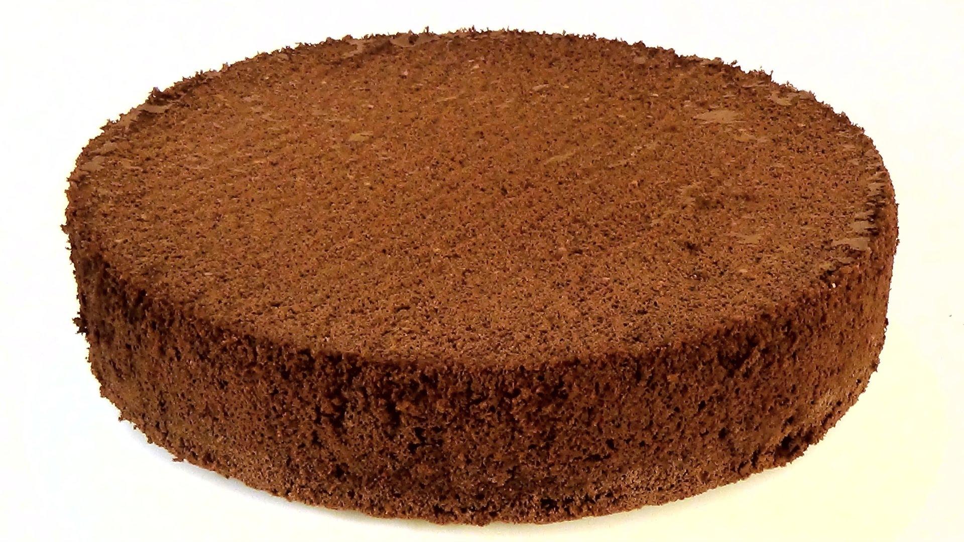 Шоколадный бисквит