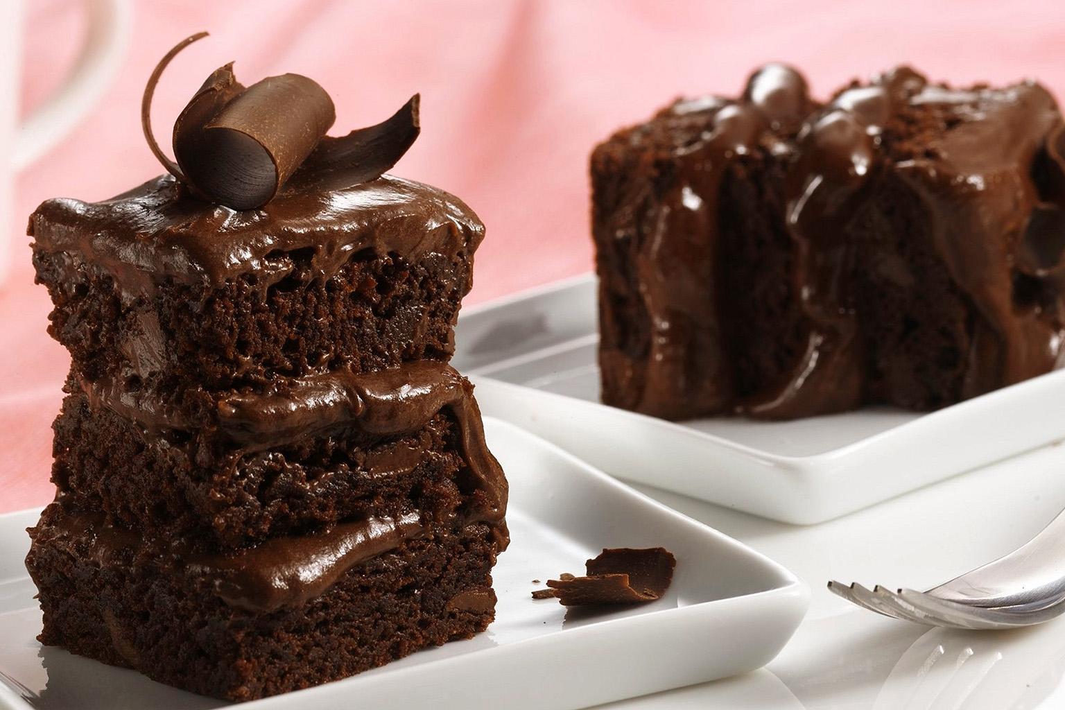 Шоколадный десерт «Брауни»