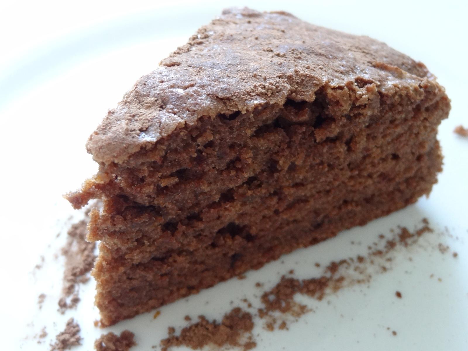 Шоколадный пирог на кефире