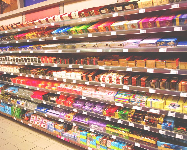 Выбирать шоколад известных торговых марок