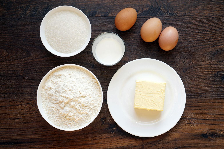"Ингредиенты для крема ""Пломбир"""