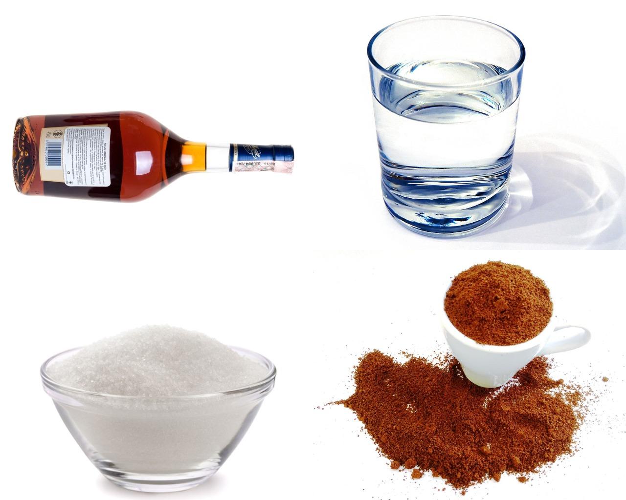 Ингредиенты для кофейной пропитки
