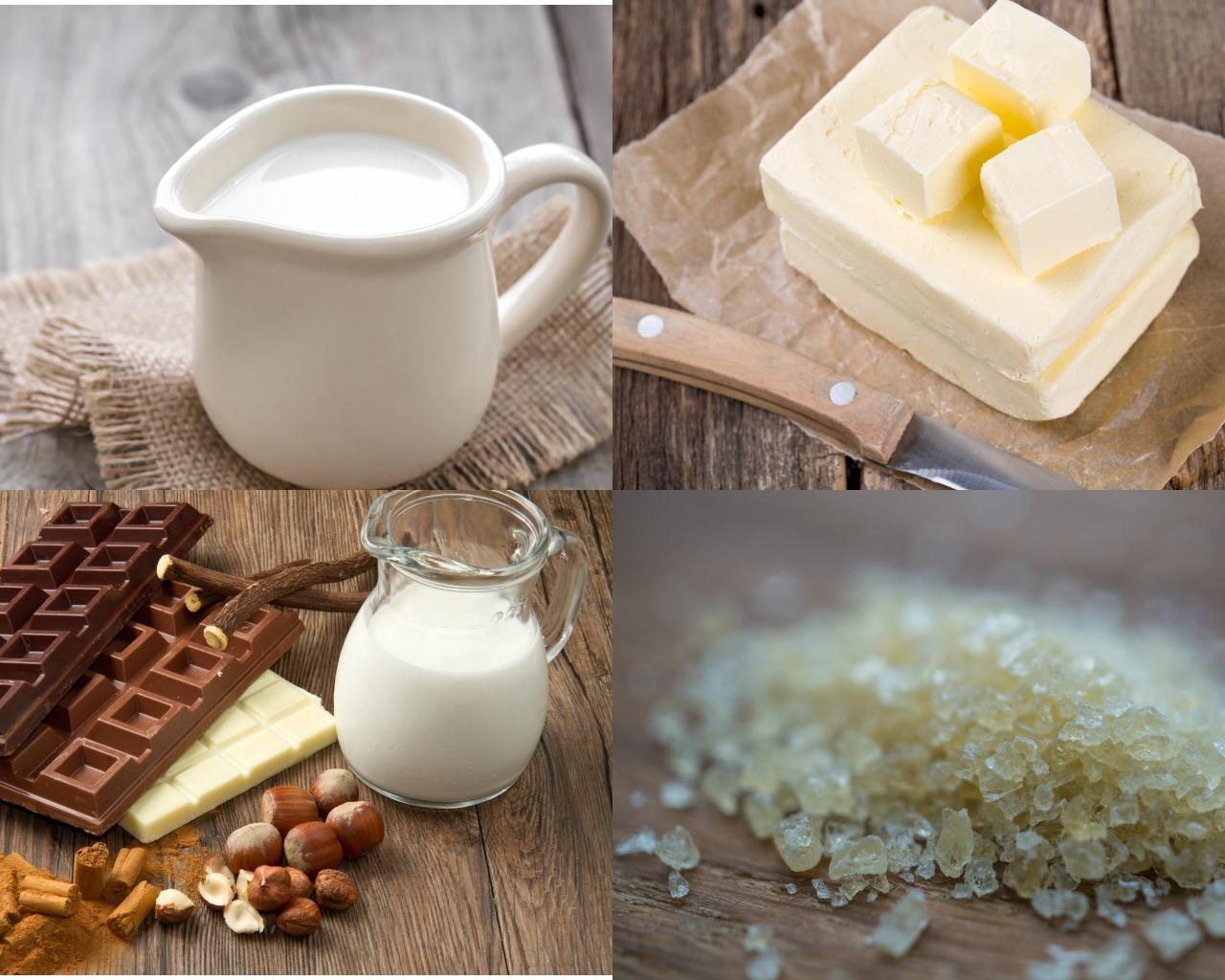 Ингредиенты для муссов