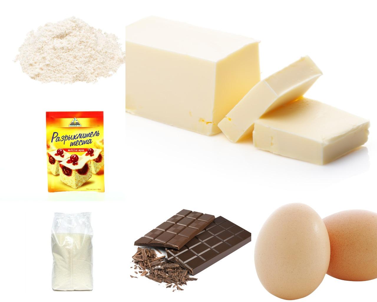 """Ингредиенты для торта """"Бельгийский шоколад"""""""