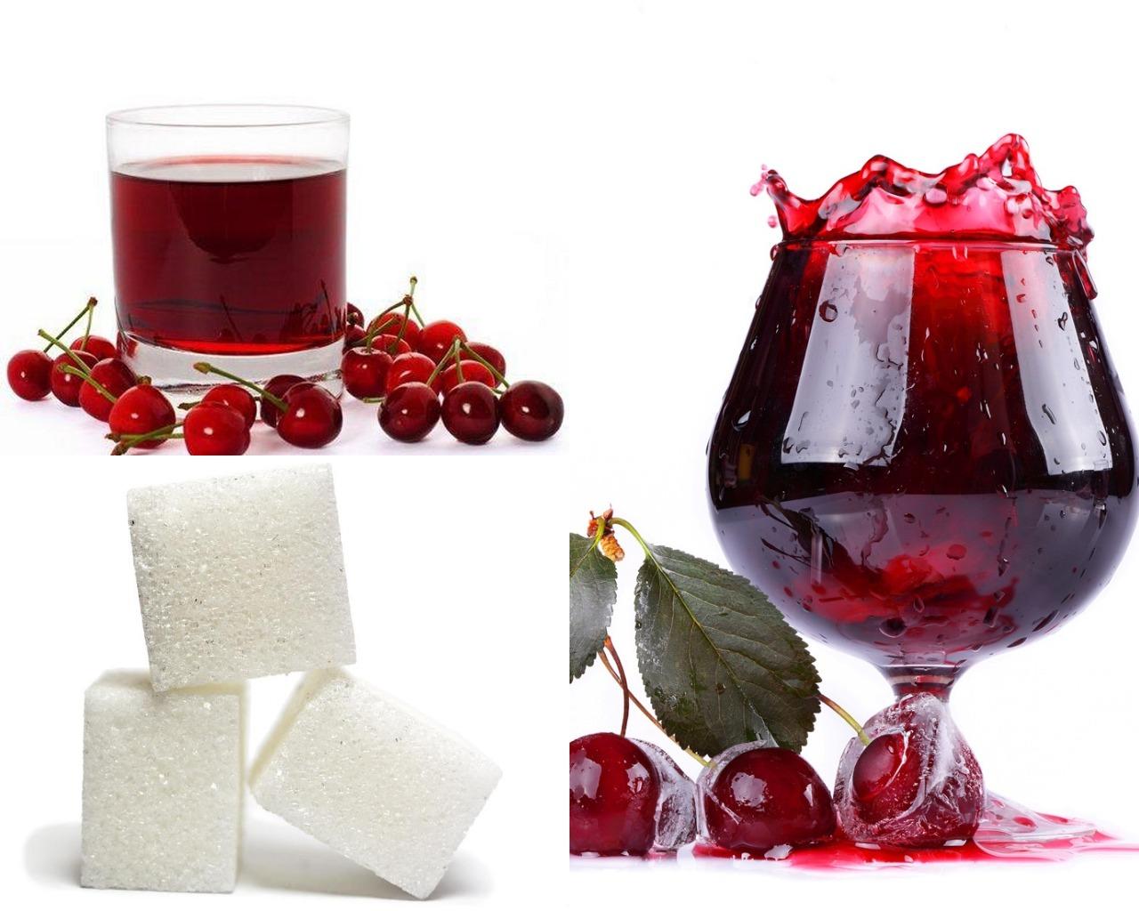 Ингредиенты для вишневой пропитки