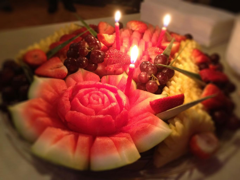 Карвинг для торта