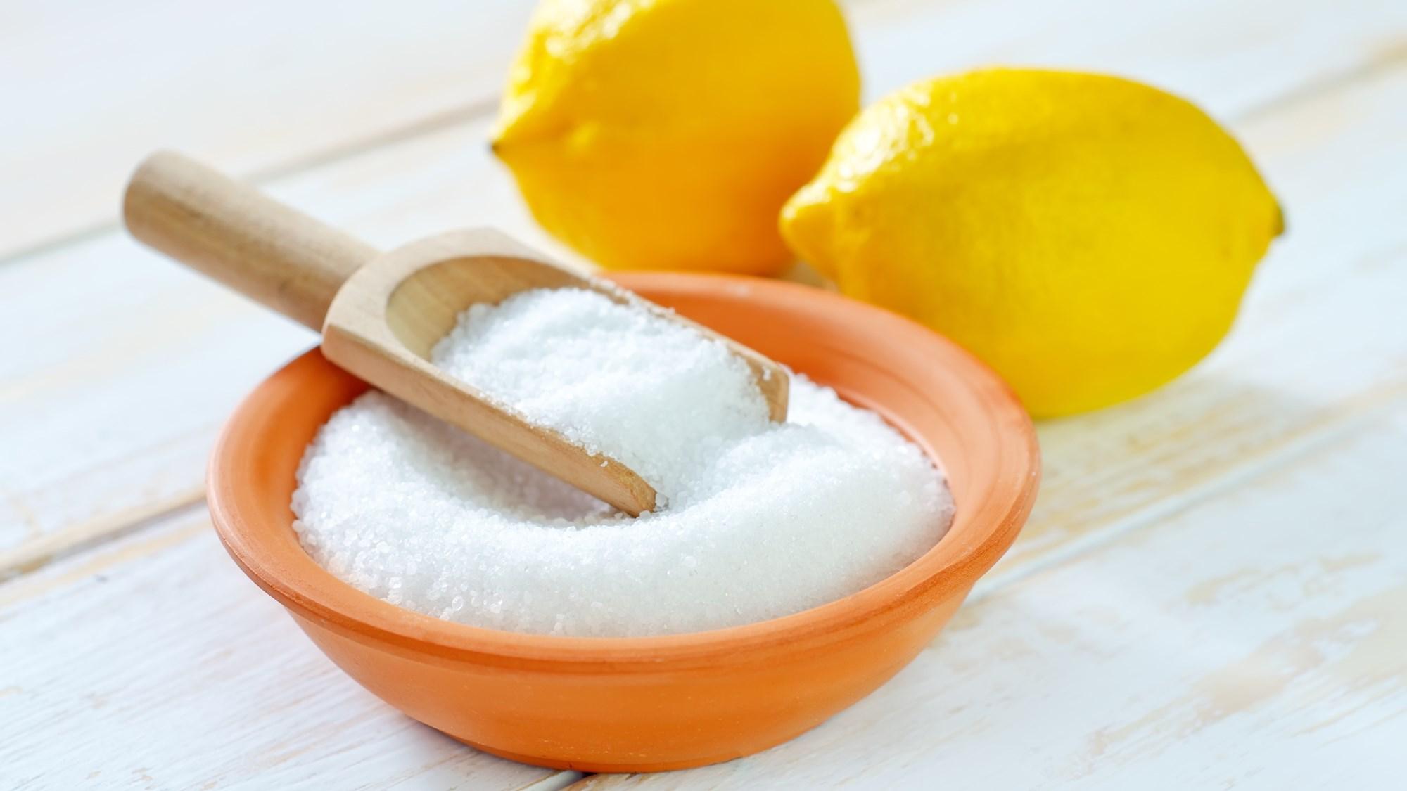 Лимон можно заменить лимонной кислотой