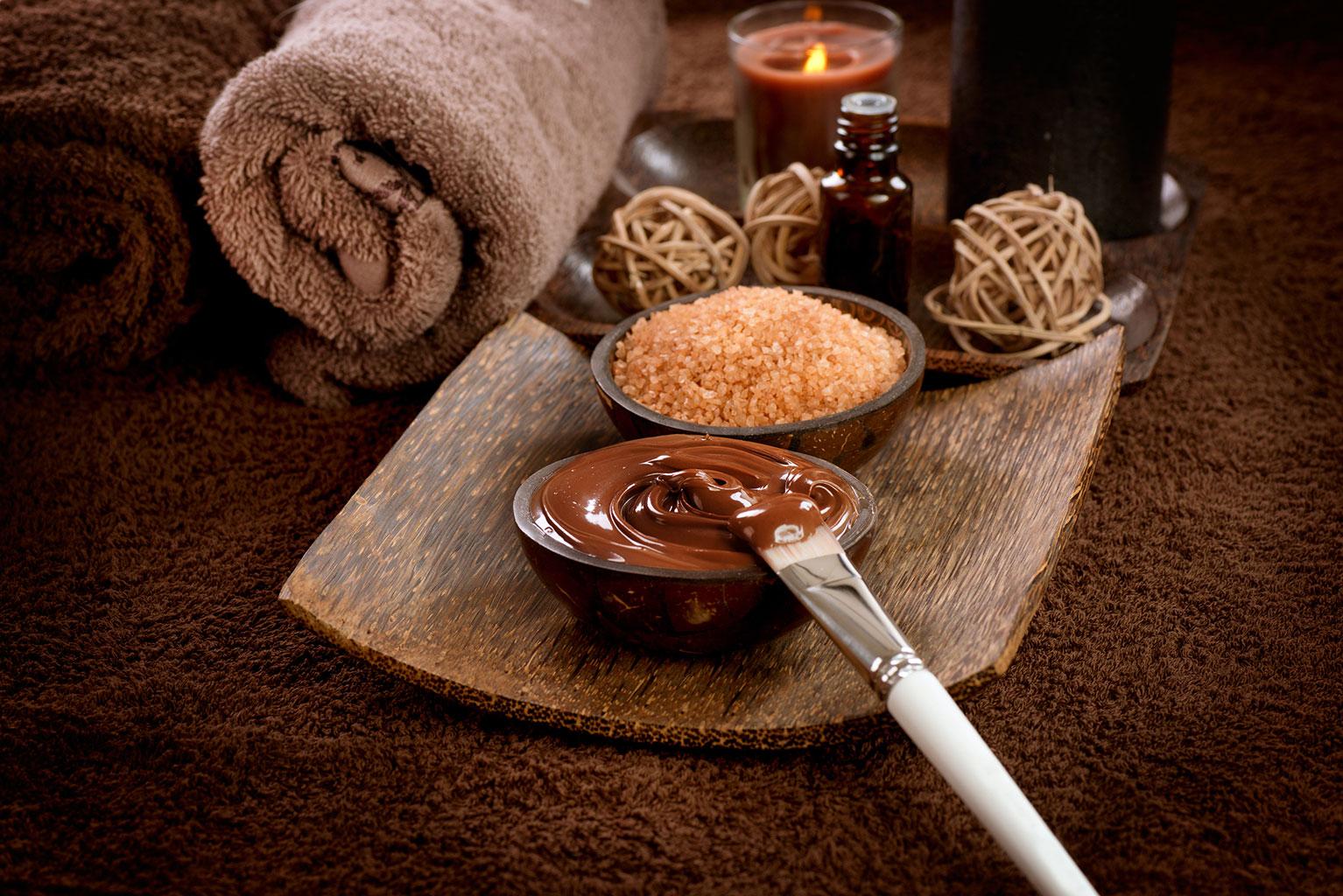 Обертывание шоколадом с коричневым сахаром