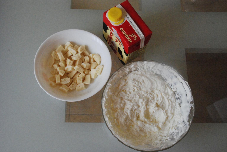 Приготовление творожной смеси