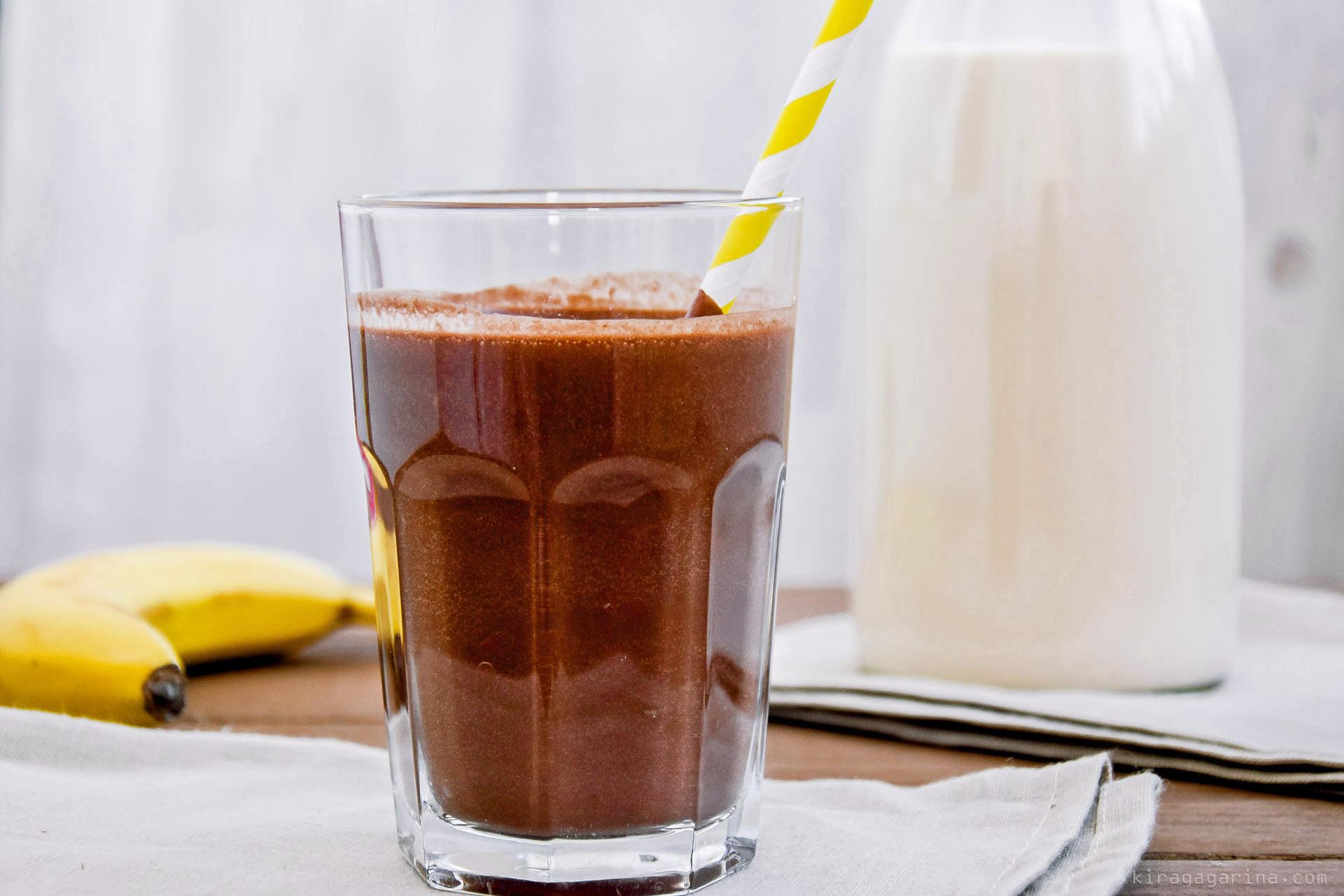 Горячий шоколадный коктейль