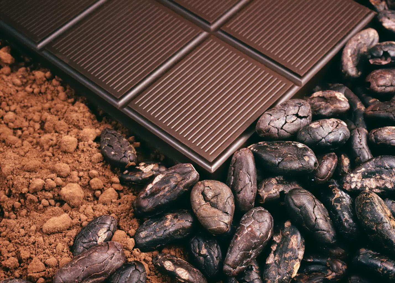 Какао-порошок и шоколад
