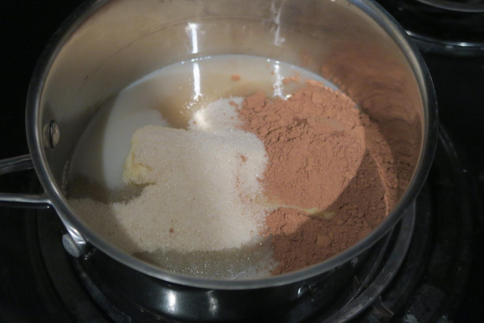 Ингредиенты для шоколадной помадке