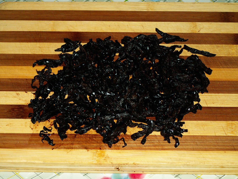 Чернослив нарезанный полосками