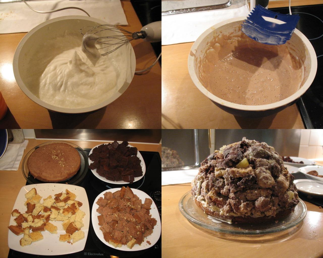 Приготовление торта «Панчо»