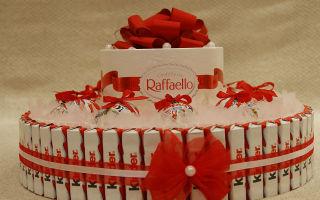 Торт из шоколадок