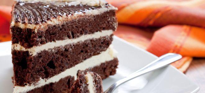 Торт «Черный принц» на кефире
