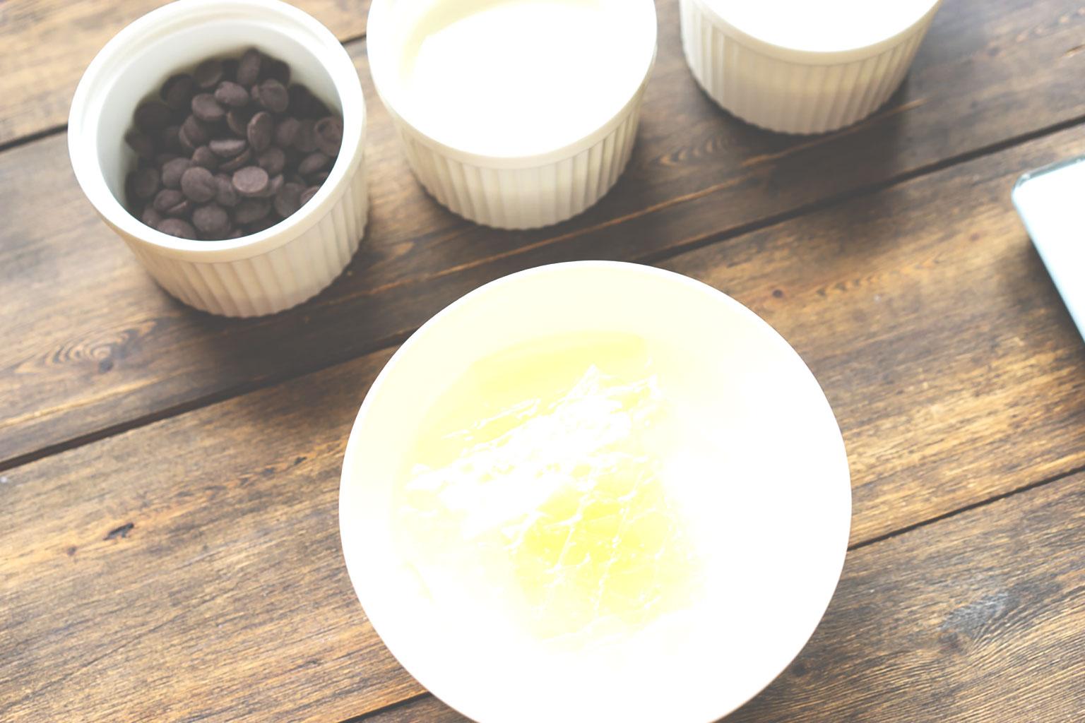 Ингредиенты для приготовления глазури
