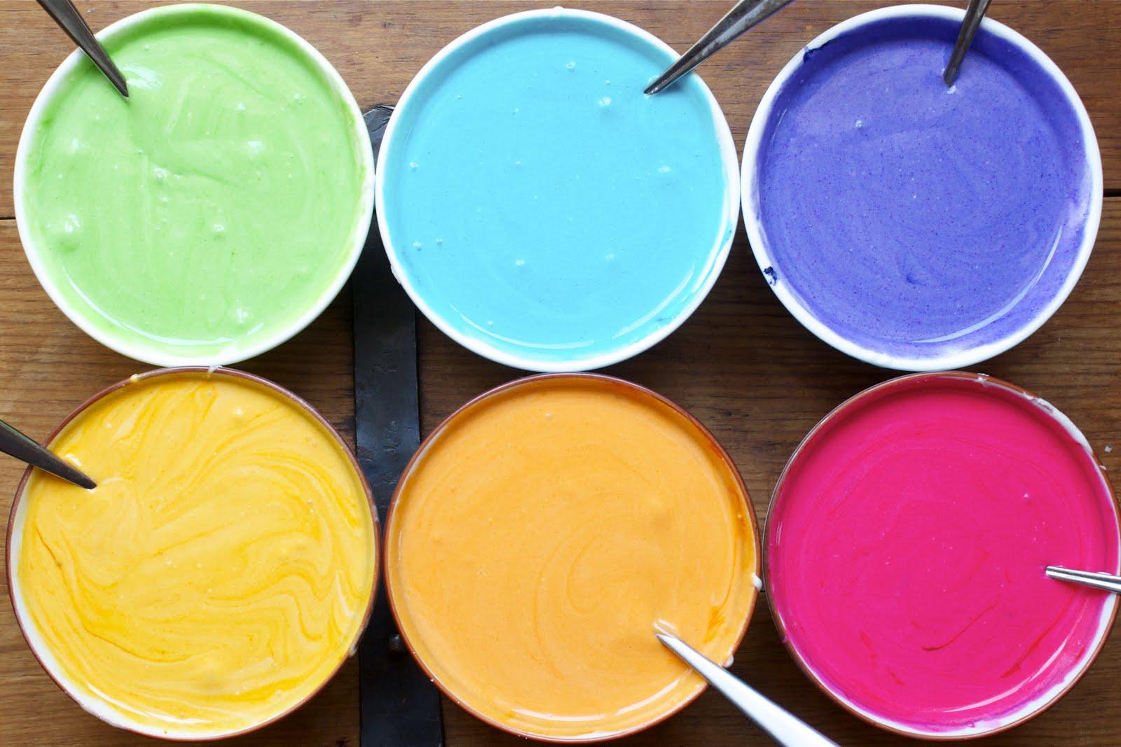 Сливочная цветная глазурь